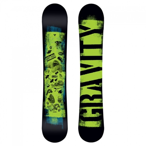 Chlapecký snowboardový set Gravity Flash (větší boty) - VÝPRODEJ