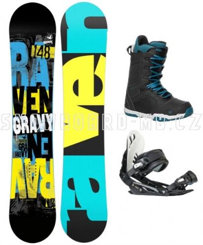 Chlapecký snowboardový komplet Gravy Junior  - VÝPRODEJ