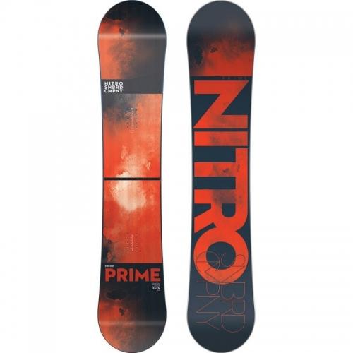 Snowboard Nitro Prime wide red - VÝPRODEJ