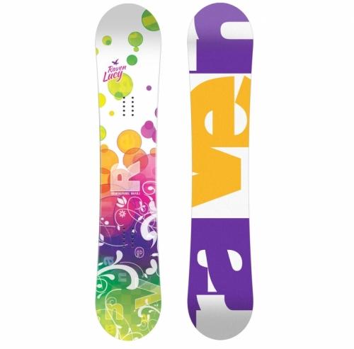 Dívčí snowboard Raven Lucy