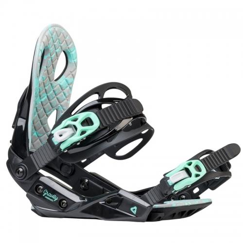 Dámský snowboard komplet Raven Pearl black/blue