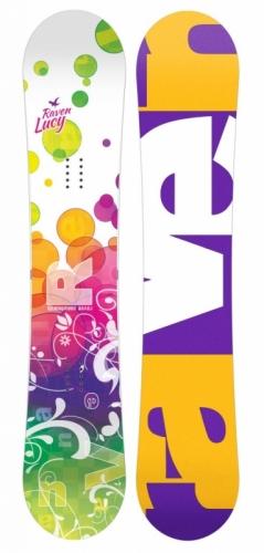 Dívčí snowboard komplet Raven Lucy