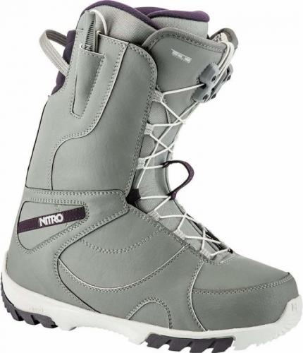 Kvalitní dámské snowboardové boty Nitro Cuda TLS grey - VÝPRODEJ
