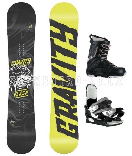 Chlapecký snowboardový komplet Gravity Flash