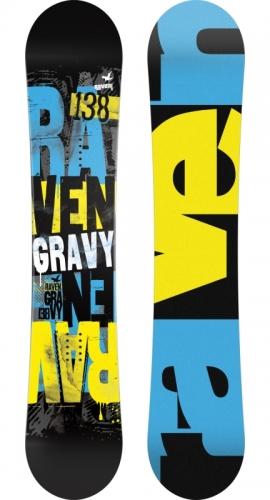 Chlapecký snowboardový komplet Raven Gravy - VÝPRODEJ