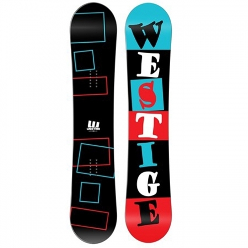 Snowboard komplet Westige Square, levný snowboardový set s botami - VÝPRODEJ