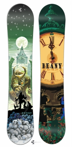 Snowboard komplety junior, snb Beany Demon a boty Westige - VÝPRODEJ