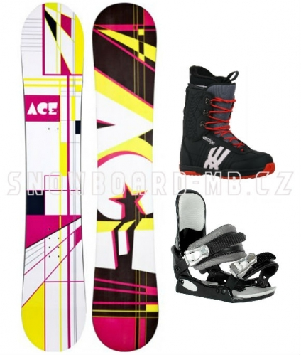 Levný dámský snowboardový komplet Ace Oddity S3 - VÝPRODEJ