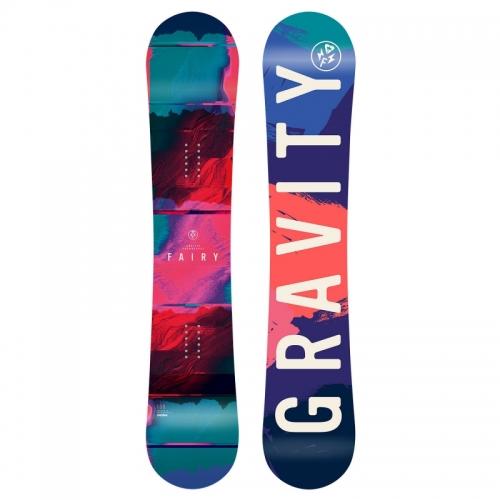 Dětský dívčí snowboard Gravity Fairy 2018/2019