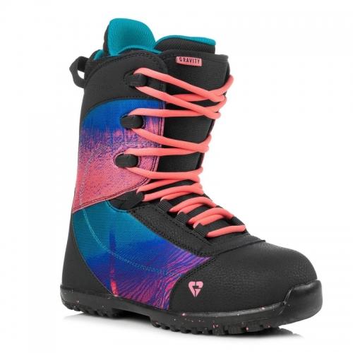 Dětské dívčí snowboardové boty Gravity Micra black/pink černo/růžové