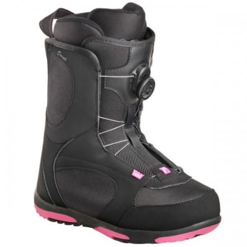Dámské snb boty Head Coral Boa pink černo-růžové s utahováním BOA