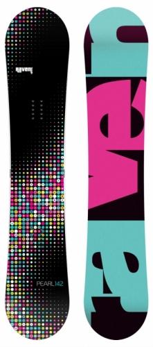 Dámský snowboardový komplet Raven Pearl (rychloutahovací boty) - VÝPRODEJ