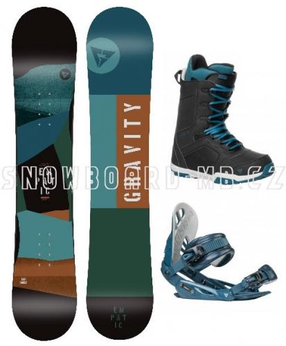 Snowboardový komplet Gravity Empatic s botami Recon - AKCE