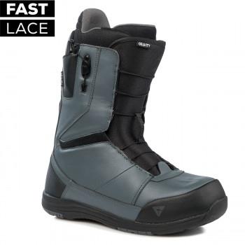 Pánské snowboardové boty Gravity Manual Fast Lace grey 2019/20 - AKCE