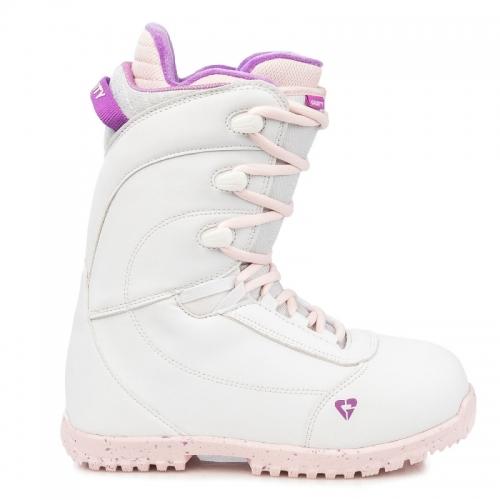 Dívčí dětské snowboardové boty Gravity Micra white 2019/2020