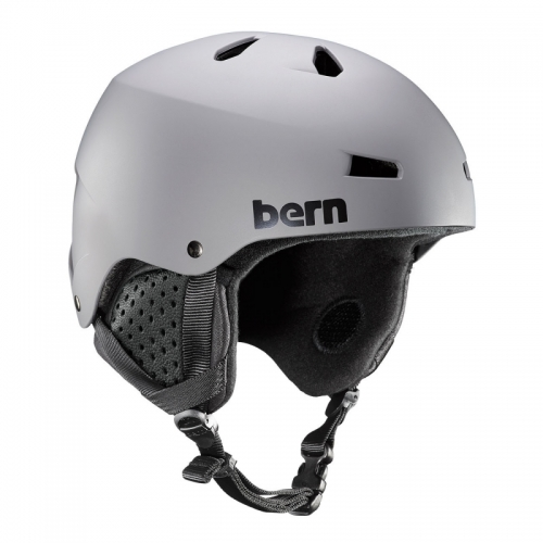 Snowboardová helma Bern Macon matte grey 2019/2020