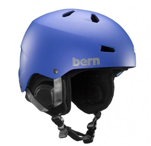 Snowboardová přilba Bern Macon matte black 2019/2020
