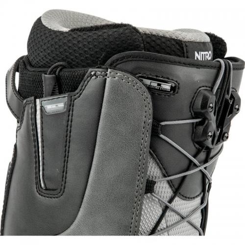 Snowboardové boty Nitro Venture TLS black charcoal 2020