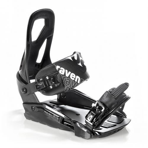 Snowboardové vázání Raven s200 black