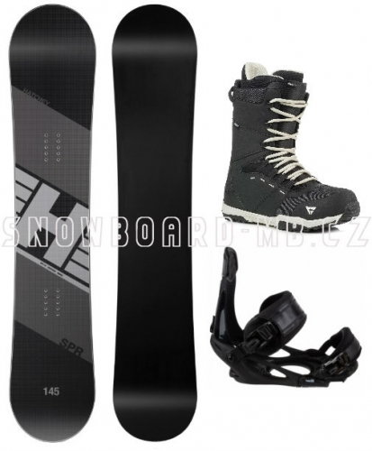 Snowboardový komplet Hatchey SPR s vázáním Head a botami Gravity