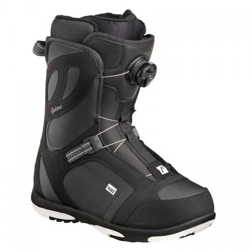 Dámské snb boty Head Galore Pro Boa Black / černé s kolečkem - VÝPRODEJ