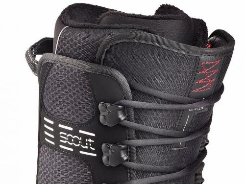 Pánské snowboardové boty Head Scout Pro black / černé