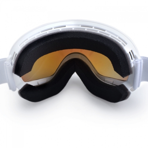 Ski A Snow Brýle Woox Opticus Opulentus White/Re Bílé S