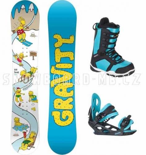 Dětské snowboardové sety, komplety pro chlapce, děti