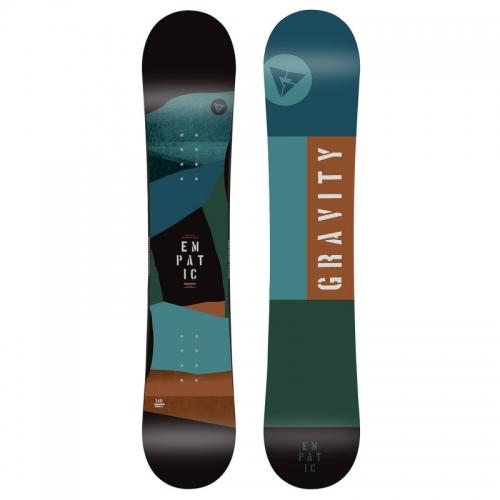 Dětský freestyle/allmountain snowboard komplet Gravity Empatic junior - AKCE