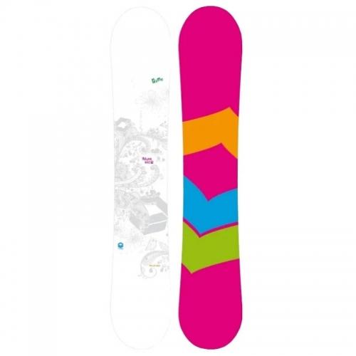 Dámský snowboard FTWO Whitedeck Lady Double Camber