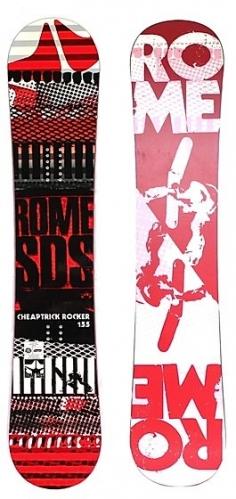 Snowboard Rome Cheaptrick Rocker SDS - VÝPRODEJ