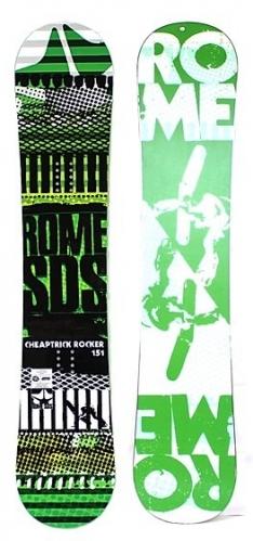 Freestyle snowboard Rome Cheaptrick Rocker SDS - VÝPRODEJ