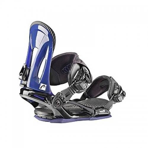 Dámské snowboard vázání Head NX Fay III black/blue černé/modré - VÝPRODEJ