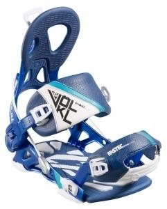 Snowboardové rychlozapínací vázání Völkl Fastec Choice Alu Blue - AKCE