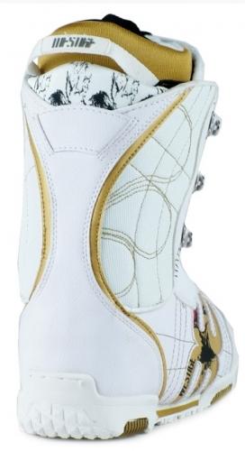Malé dámské nebo dívčí snowboardové boty Westige Hard white/bílé  - VÝPRODEJ