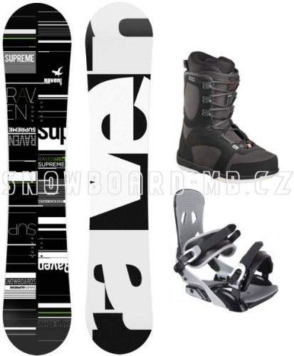 Snowboardový komplet Raven Supreme, akční snb komplety - VÝPRODEJ