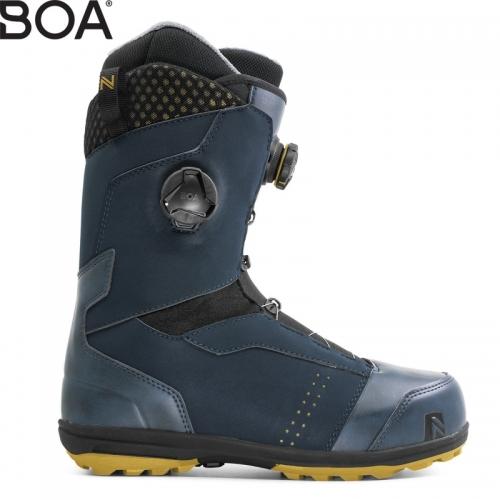 Pánské snowboardové boty Nidecker Triton Focus midnight 2 kolečka BOA