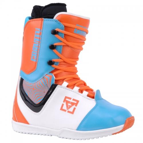 Boty na snowboard Gravity Castor orange/blue oranžové/modré 11/12