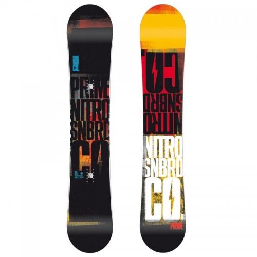 Pánský snowboard Nitro Prime Propaganda, nejlevnější snowboard Nitro - AKCE