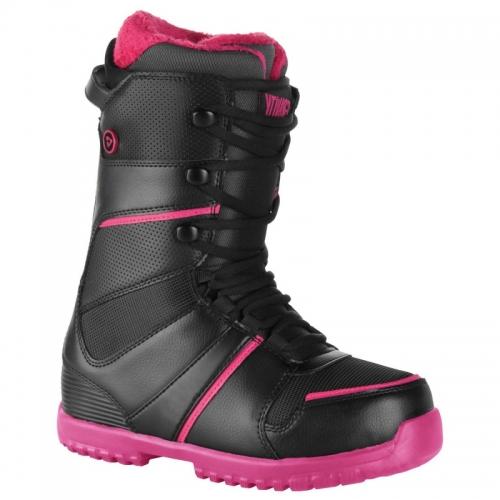 68279b61a29e Dámské snowboardové boty Gravity Sage black pink černé růžové - VÝPRODEJ