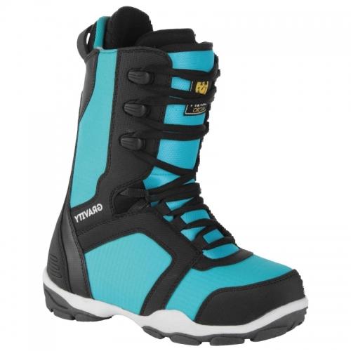 Dětské boty na snowboard Gravity Micro black/blue - VÝPRODEJ