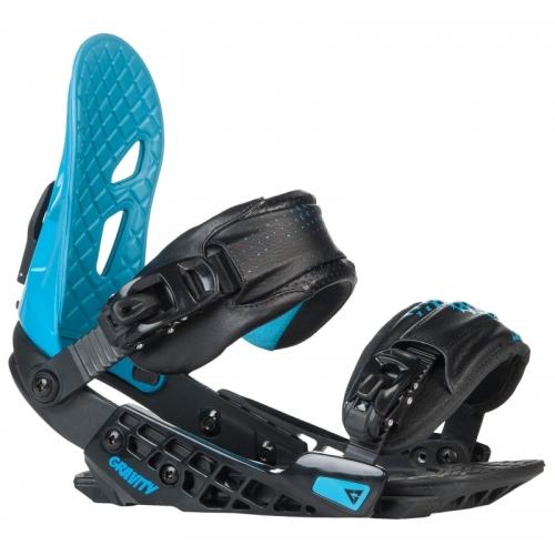Pánské snowboard vázání Gravity G2 black/blue černé/modré  - VÝPRODEJ