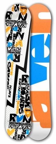 Freestyle snowboard Raven RVN white - VÝPRODEJ