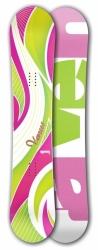 Dámský snowboard Raven Venus green/pink