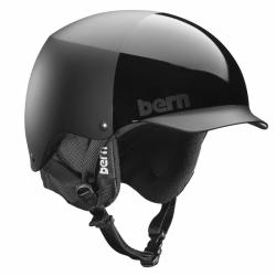 Snowboardová helma Bern Baker all black, pánské helmy na snowboard