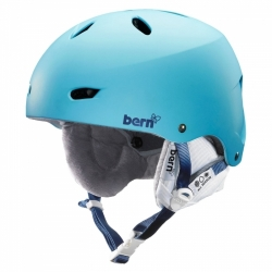 Snowboardová helma Bern Brighton matte bluebird dámská, dívčí