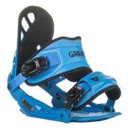 Vázání na snowboard Gravity G1 blue/modré