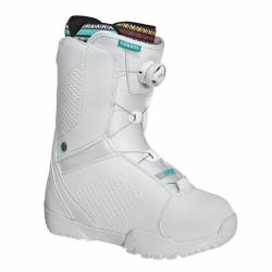 Dámské boty na snowboard Flow Hyku Boa white/bílé rychlo utahovací kolečko