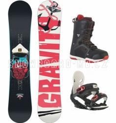 Snowboard freestyle komplet Gravity Empatic