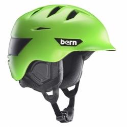 Snowboardová helma Bern Kingston matte neon green / zelená